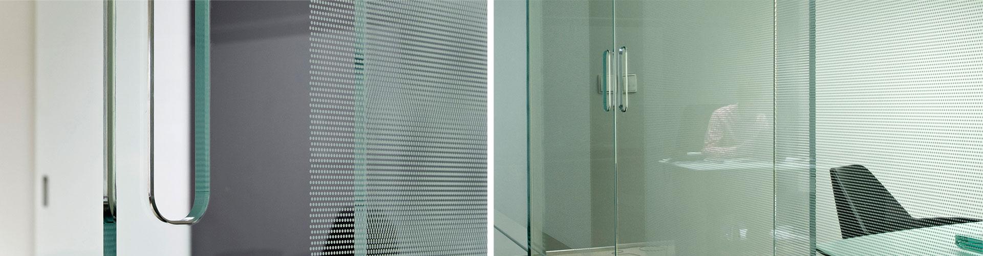 siebdruck digitaldruck glasraum glas f r den ladenbau und innenausbau. Black Bedroom Furniture Sets. Home Design Ideas